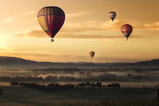 亞拉河谷熱氣球