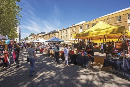 Salamanca Market - Hobart Tour