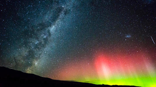 霍巴特 南極光